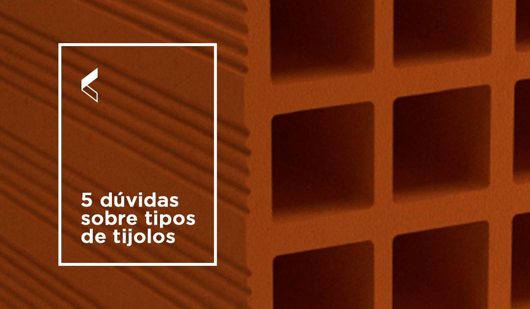 5 dúvidas sobre tipos de tijolos cerâmicos