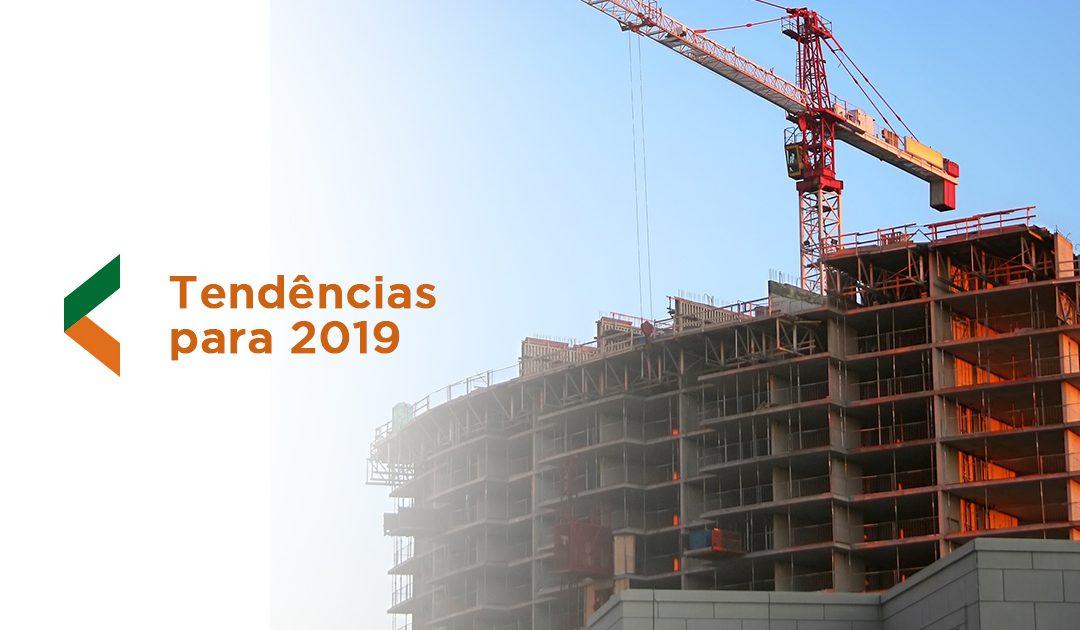 Veja quais serão as tendências da construção civil para 2019